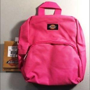 Dickies mini backpack pink